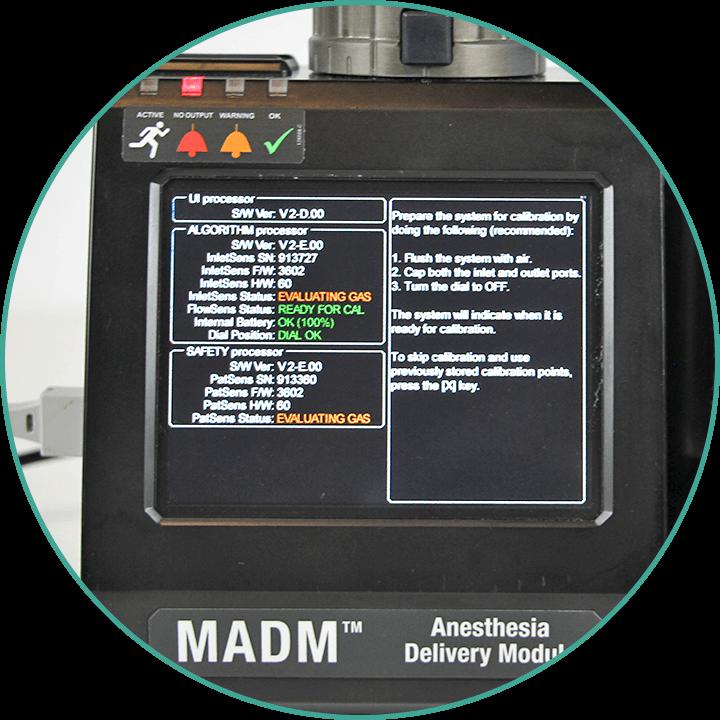 MADM™ monitor set up